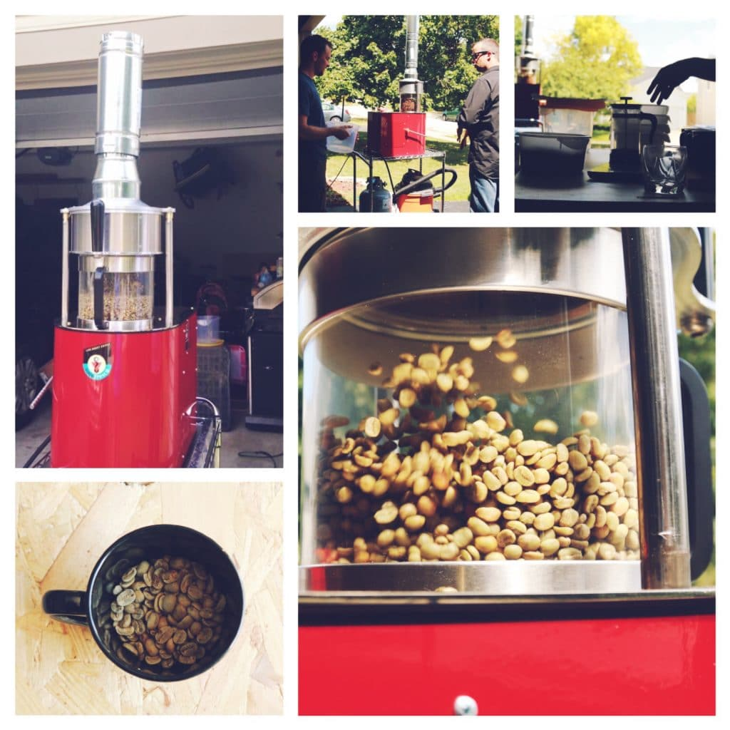 Fresh Roasted Coffee. Local Coffee. Hilliard.  Roasting.