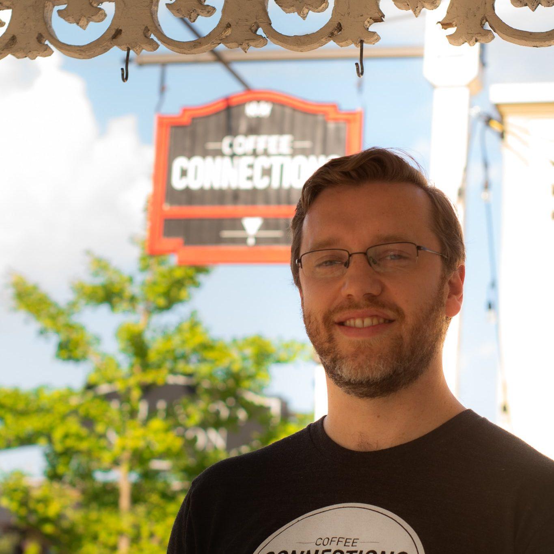 Jeff Heimberger  Coffee Shop Owner
